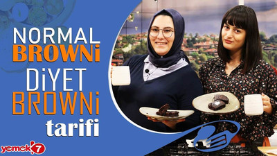 Normal Browni & DİYET Browni KAPIŞIYOR!